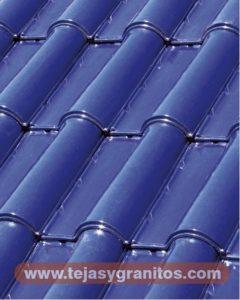 Teja Renacimiento Azul Cobalto