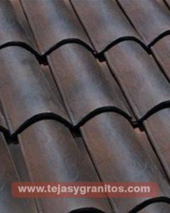 Teja Casa Grande Flameado Negro