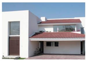 Teja renacimiento flameado guinda tejas el aguila tejas de barro puebla - Como reformar una casa ...