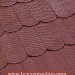 Teja Corteza Rojo 15x30cm