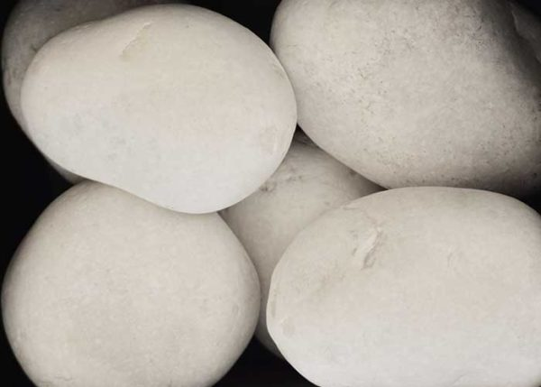 """Piedra de Marmol Blanca 3.5"""""""