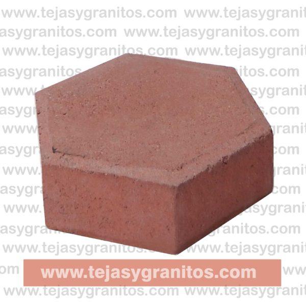 Hexagonal Rojo