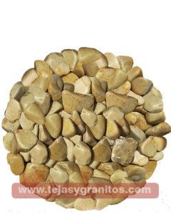 Piedra de Mármol Amarilla Canica