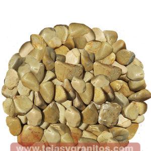 Piedra de Mármol Amarilla Canica 1