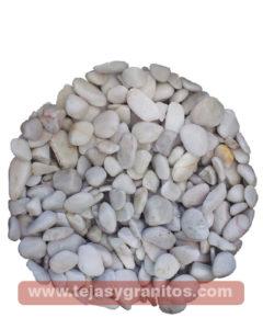 Piedra de Marmol Blanca Canica