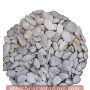 Piedra de Mármol Blanca Canica 1