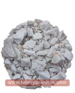 Gravilla de marmol Blanca 4-5