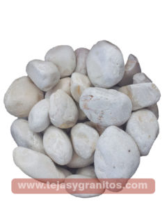 Piedra de Marmol Blanca Limón