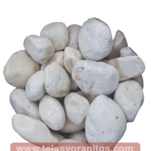 Piedra de Mármol Blanca Limón 2.5