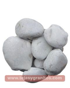 Piedra de Marmol Blanca Naranja