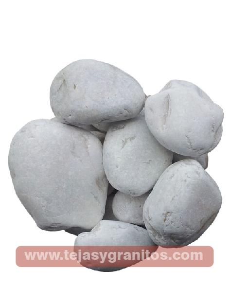 Piedra de Mármol Blanca Naranja 3.5