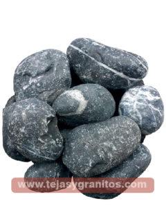 Piedra de Marmol Negra Naranja