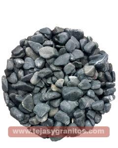 Piedra de Marmol Negra Canica