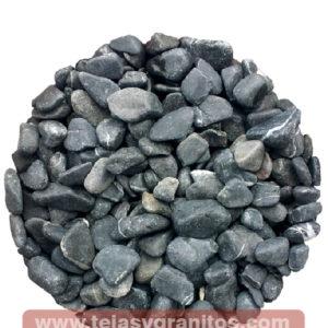 Piedra de Mármol Negra Canica 1