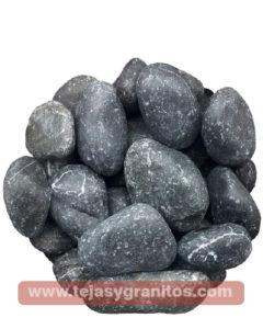 Piedra de Marmol Negra Limon