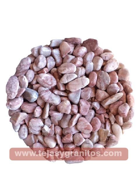 Piedra de Mármol Rosa Canica 1