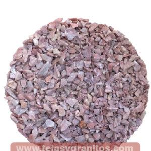 Piedra de Mármol Rosa Grava 1-3