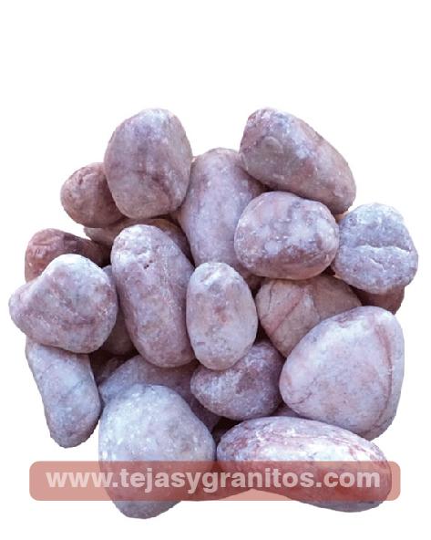 Piedra de Mármol Rosa Limón 2.5