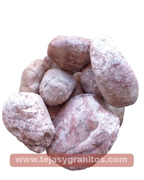 Piedra de Mármol Rosa Naranja 3.5