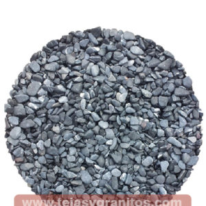 Piedra de Márnol Negra Grava 1.3