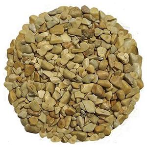"""Piedra de Marmol Amarilla .5"""""""
