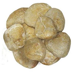 """Piedra de Marmol Amarilla 3.5"""""""