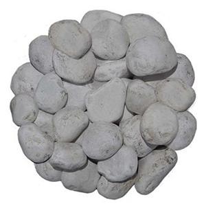 """Piedra de Marmol Blanca 1.5"""""""