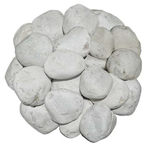 """Piedra de Marmol Blanca 2.5"""""""