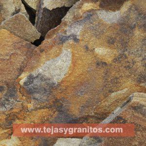 piedra laja al óxido