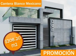 Cantera Blanco Mexicano