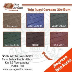 Teja Rutti Corteza 30x15