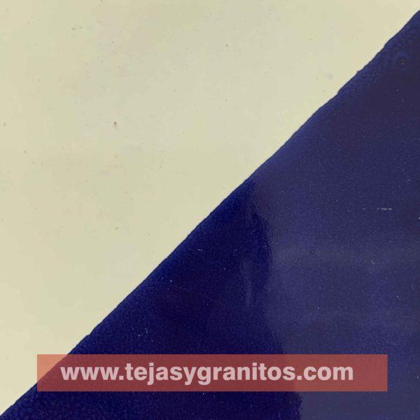 Azulejo de Talavera Arlequin Azul