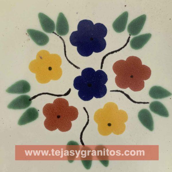 Azulejo de Talavera Bouquet