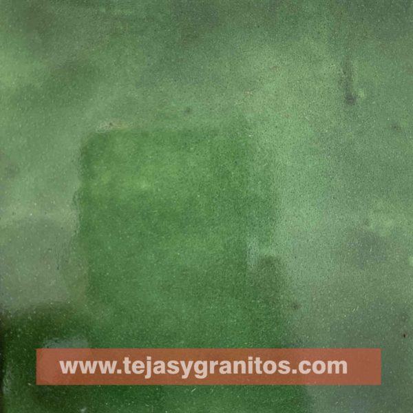Azulejo de Talavera Verde Deslavado