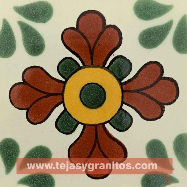 Azulejo de Talavera Seville Verde