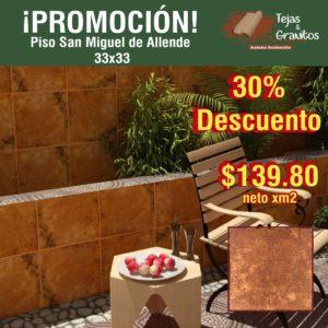 Piso Ceramico San Miguel de Allende