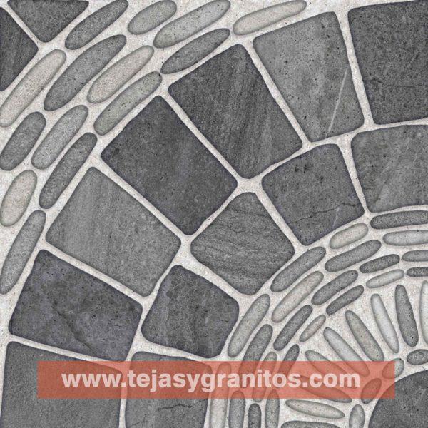 Piso Ceramico Tamuin Gris 33x33