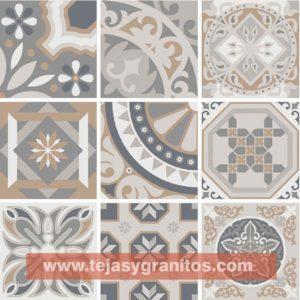 Piso Ceramico Trinidad Gris 44x44