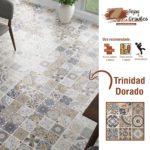 Piso Ceramico Trinidad Dorado