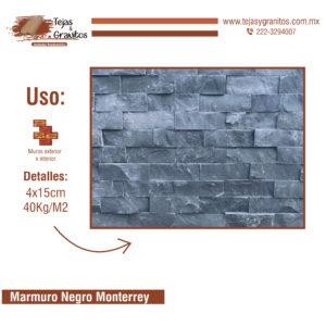 Marmuro Negro Monterrey