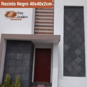 Recinto Negro 40x40cm
