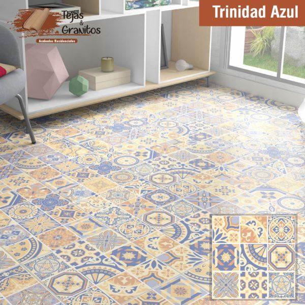 Piso Trinidad Azul