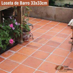 Loseta de Barro 33x33cm