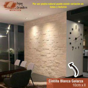 Cintilla Blanca Galarza 10cm