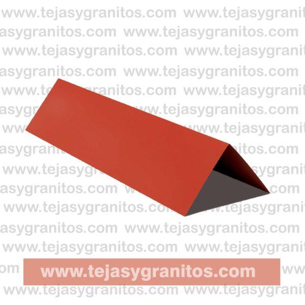 Cumbrera Lamina tipo teja Roja-01-01