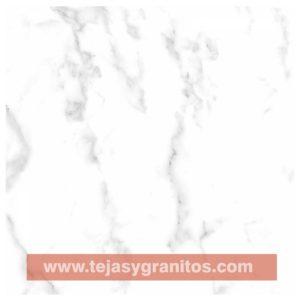Piso Cerámico Blanco Carrara