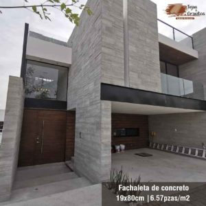 Fachaletas de Concreto
